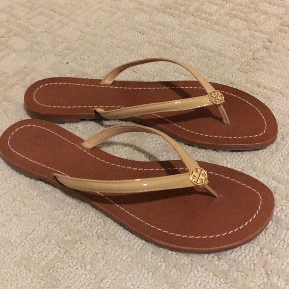 e0bbc650edb NIB Tory Burch Terra Thong Sandals